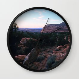 Moab, Utah Wall Clock