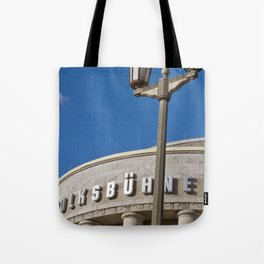 Volksbühne - Theater - Rosa-Luxemburg-Platz - Berlin - Germany  Tote Bag