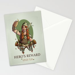 Hero's Reward Ginger Mead Stationery Cards