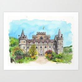 Inveraray Castle Art Print