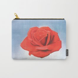 Salvador Dali - Meditative Rose - 1958 Restored Artwork for Wall Arts, Prints, Posters, Tshirts, Men, Women, Kids Carry-All Pouch