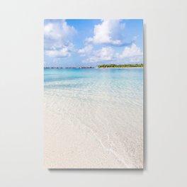 Tropical Beach Paradise Metal Print