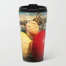 Nautical Bouys. Travel Mug