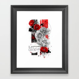 I survived Framed Art Print