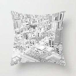 Asakusa, Japan Throw Pillow