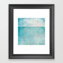 Boat (variation) Framed Art Print