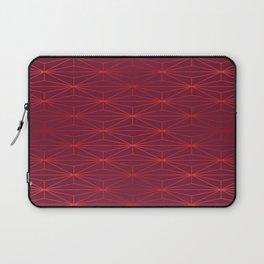 ELEGANT BEED RED TANGERINE PATTERN v3 Laptop Sleeve