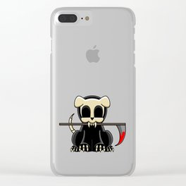 Grim Reapets - A Dog Named Decay - Bloody Halloween Variant Clear iPhone Case