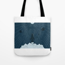 Launching To Space Tote Bag