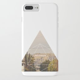 Hollywood Sign - Geometric Photography iPhone Case