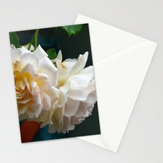Romantic roses Stationery Cards