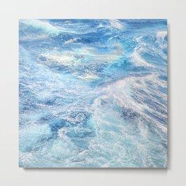 """Sea waves"". High sea.... Metal Print"