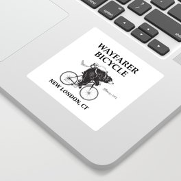Wayfarer Bicycle Since 1972 Sticker