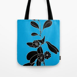Goat's Foot (also known as Mauve Convolvulus, Beach Potato Vine, and Morning Gl - Ipomoea pes-caprae Tote Bag