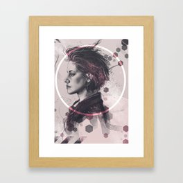 Teenage Love Framed Art Print