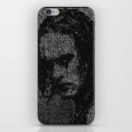 Eric Draven: The Crow iPhone Skin