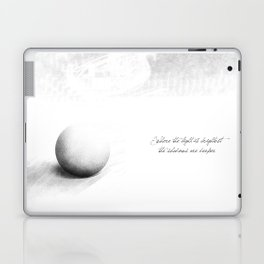 light is brighter Laptop & iPad Skin