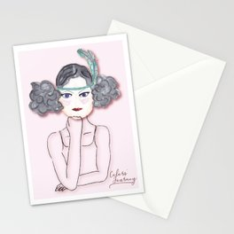 Martha, the Charleston dancer Stationery Cards