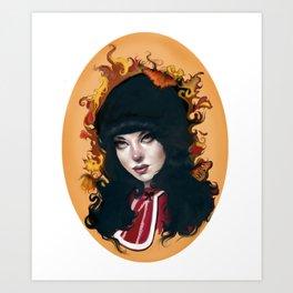 """Francine"" Art Print"