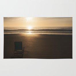 Beach Chair at Sunrise Rug