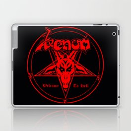 venom metal music Laptop & iPad Skin