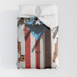 Puerto Rico Flag  ,pride Comforters