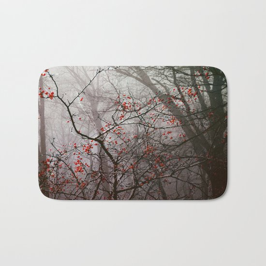 Forest of Red Bath Mat