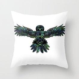 Morepork Throw Pillow
