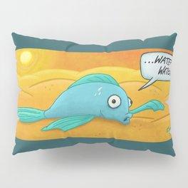 Fish in the Desert! Pillow Sham