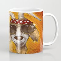 rockabilly Mugs featuring Rockabilly by Chip David