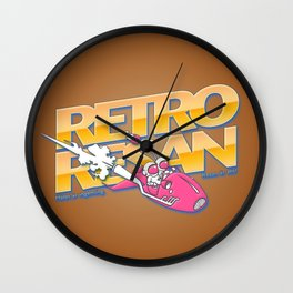 Retroresan logo Wall Clock