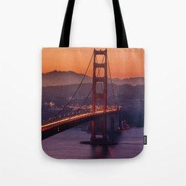 Golden_Gate_Bridge_20170801_by_JAMFoto Tote Bag