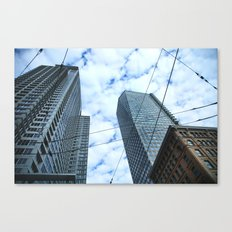 Grounds Eye View Canvas Print