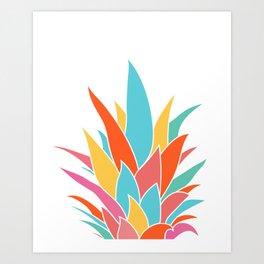 Pineapple Top III Art Print