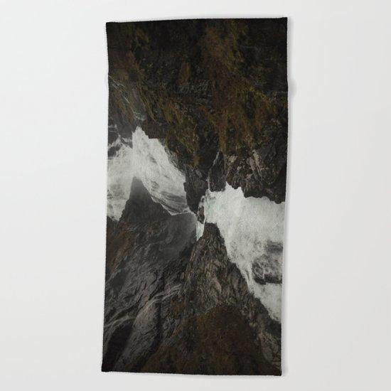 Whitewater Beach Towel