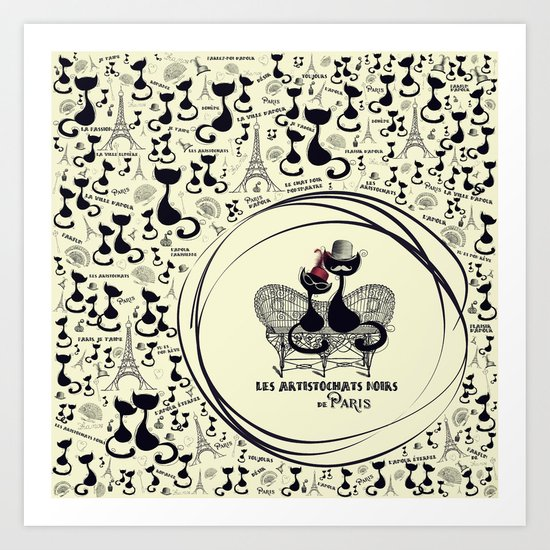Paris  - The Aristocats Art Print