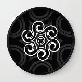 Dony Tattoo (Black) Wall Clock