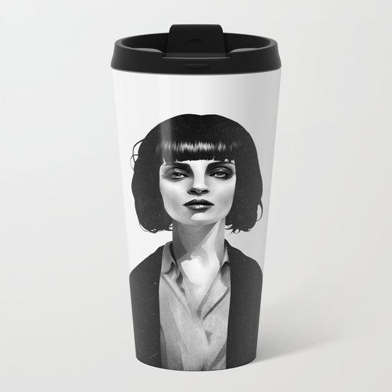 Mrs Mia Wallace Metal Travel Mug