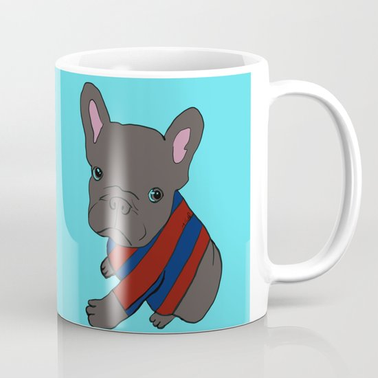 French Bull Dog Puppy in a Sweater Coffee Mug