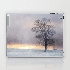 Winter Sunrise, Wramplingham, Norfolk Laptop & iPad Skin