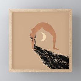 Starry Zen Framed Mini Art Print