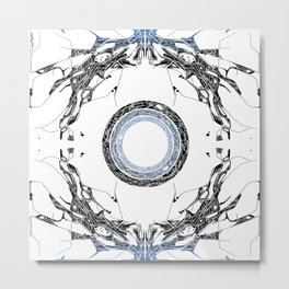 Ice Portal Metal Print