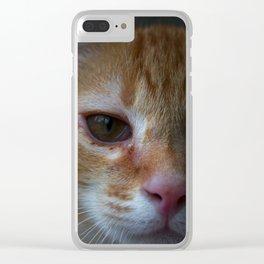 Cat Eye Clear iPhone Case