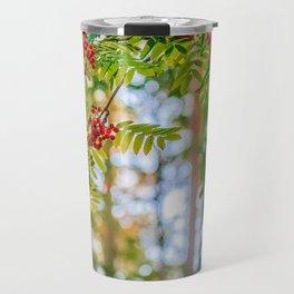 Bunches of rowan berries Travel Mug