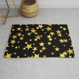stars pattern Rug