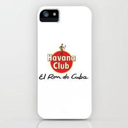 HAVANA CLUB 1 iPhone Case