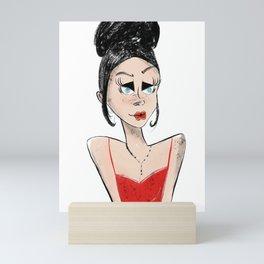 Monica Geller friends Mini Art Print