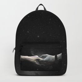 [LOVE] Sea meets Mountain - Hands Backpack