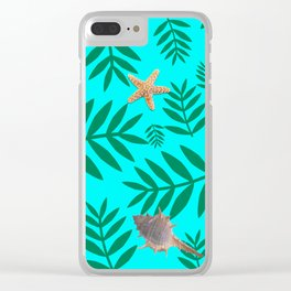 leaf coral Clear iPhone Case