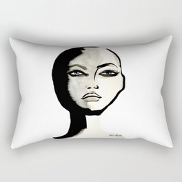 Power face Rectangular Pillow